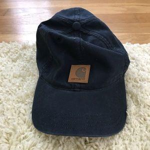 Carhartt baseball cap, women's navy blue
